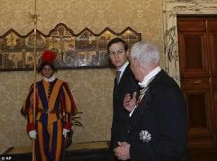 Jared Kushner in anticamera dal Papa
