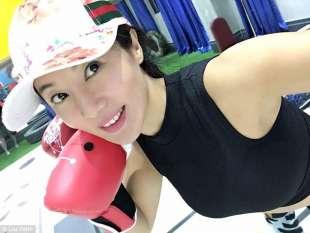 liu fanatica del fitness