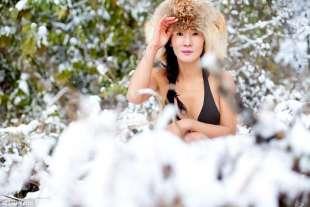 liu sulla neve