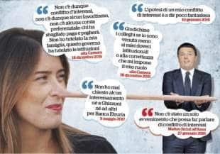 MARIA ELENA BOSCHI E LE BALLE SU ETRURIA
