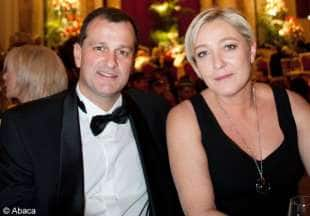 marine le pen e louis aliot