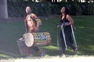 musicisti per il party africano di beyonce
