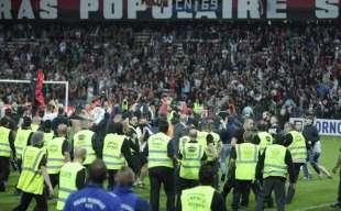 scontri tifosi bastia nizza