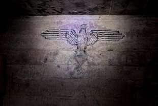 simbolo nazista nel bunker