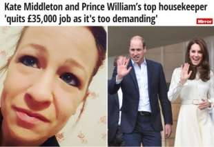 william e kate salutano la colf