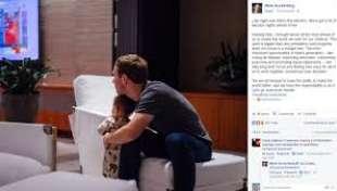 zuckerberg e la figlia