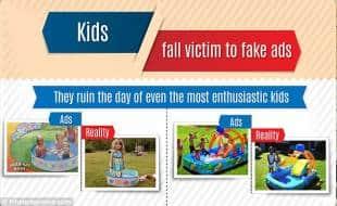 bambini delusi dai prodotti visti in tv