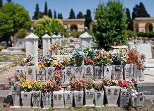 Una banda di ladri sta saccheggiando le tombe dei rom nel - Cimitero flaminio prima porta ...