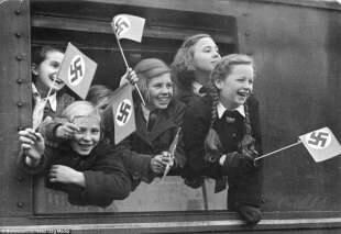 bimbi evacuati da berlino nel 1940