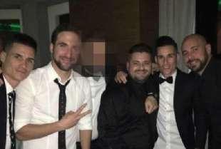 HIGUAIN REINA E CALLEJON CON I FRATELLI ESPOSITO E SALVATORE MAGGIO