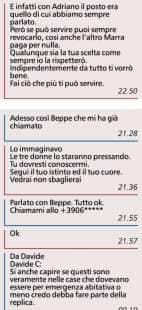 LO SCAMBIO DI MESSAGGI TRA VIRGINIA RAGGI E RAFFAELE MARRA 2 DI 2