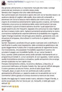 MARTINA DELL OMBRA E IL SESSO ANALE