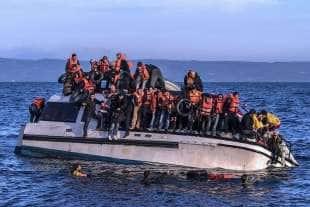 profughi in grecia