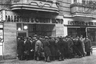repressione per gli ebrei 1933