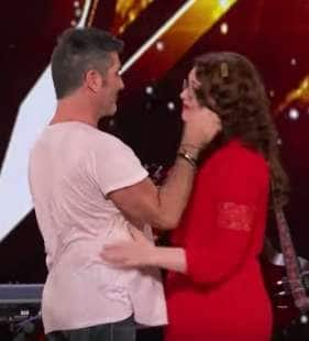 simon cowell mandy harvey