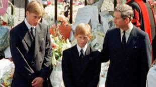 WILLIAM HARRY E CARLO D INGHILTERRA AL FUNERALE DI LADY DIANA