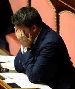 matteo renzi in senato 2