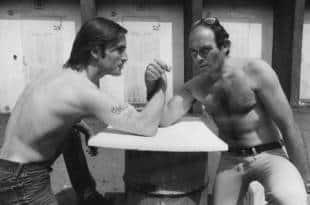 Joe Dallesandro con Squitieri i