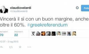 la previsione di claudio velardi sul referendum greco