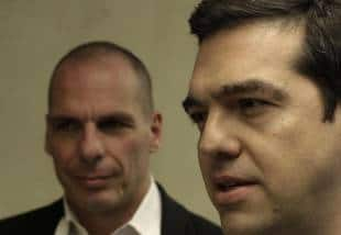 Tsipras e Yanis Varoufakis
