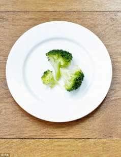 porzioni di broccoli