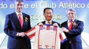 wang jianlin atletico madrid