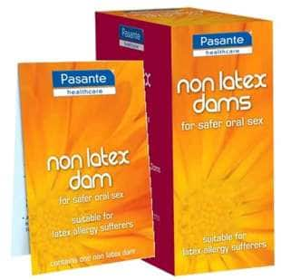 dental dam no latex