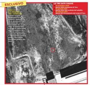 foto satellitari chignolo d isola yara gambirasio processo bossetti