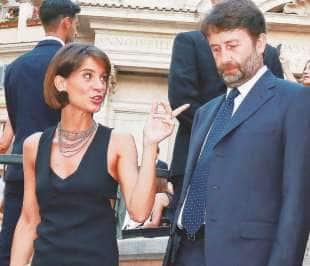 franceschini e moglie