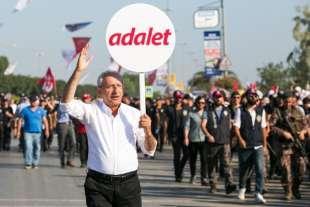 kemal kilicdaroglu alla marcia di protesta contro erdogan