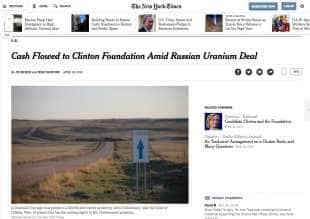 l inchiesta del ny times su uranium one