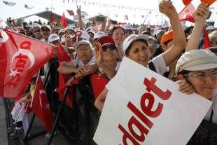 marcia di protesta contro erdogan 4