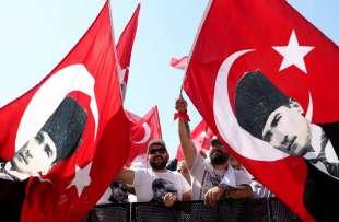 marcia di protesta contro erdogan 6