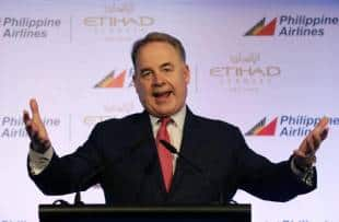 Etihad Boss James Hogan