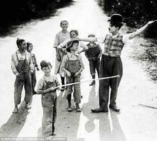 charlie chaplin california 1931