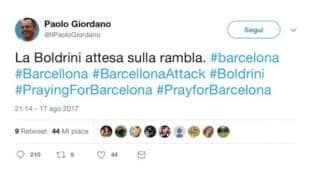 ATTENTATO A BARCELLONA - IL TWEET DI PAOLO GIORDANO CONTRO LAURA BOLDRINI