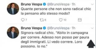 bruno vespa tweet