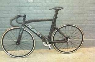la bici di Charlie Alliston