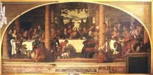 Nozze di Caana di Paolo Veronese e Benedetto Caliari