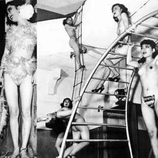 stripper giapponesi anni 50