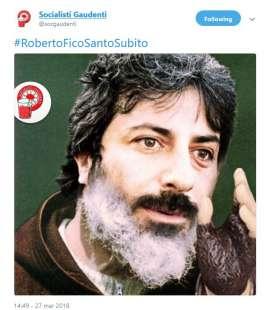ROBERTO FICO SANTO SUBITO