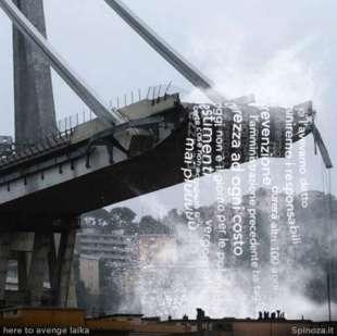 spinoza le parole sul ponte