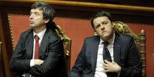 RENZI E ORLANDO