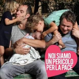 Claudio Rossi Marcelli e la sua famiglia