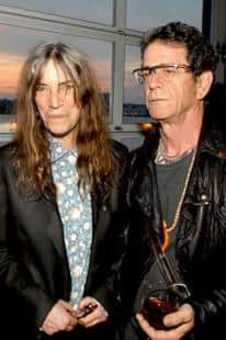 lou reed patti smith