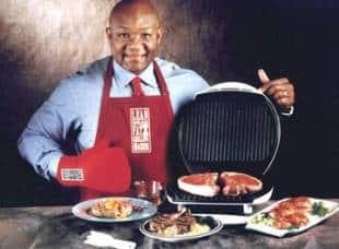 george foreman con il suo grill