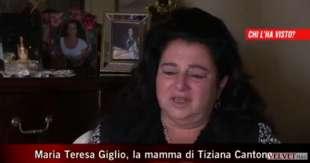 TERESA GIGLIO MADRE DI TIZIANA CANTONE