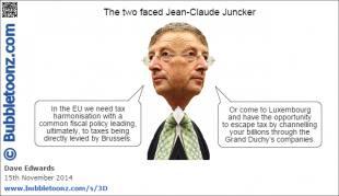 le due facce di juncker