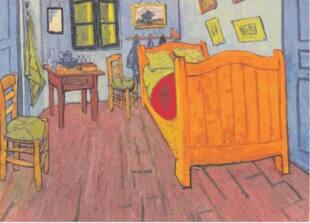 Nel libro 39 vincent van gogh i miei quadri raccontati da - Van gogh camera da letto ...