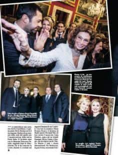 L ultima mesta festa del senatore berlusconi dai gioielli - Sofia diva futura ...